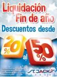 Liquidacon de Fin de Año Tiendas STA JACKS - 26dic13