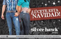 Luce en navidad tus JEANS silver hawk