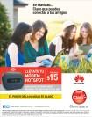 Modem HOTSPOT huawei en navidad CLARO promociones - 16dic13