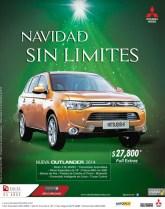 NUeva Mitsubishi Outlander 2014 savings - 09dic13
