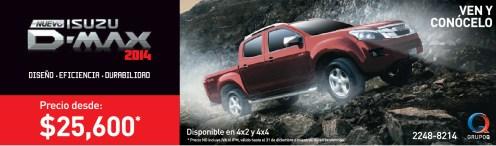 Nuevo ISUZU D-Max 2014 promotion - 06dic13