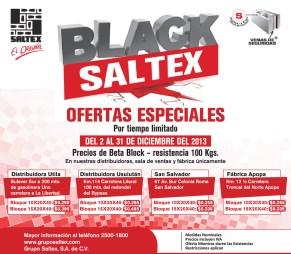 Ofertas especiales en SALTEX ladrillo - 04dic13