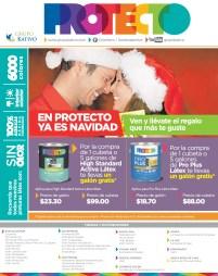 Ofertas navideñas PINTURAS PROTECTO el salvador - 16dic13