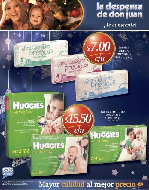 Pampers HUGGIES ofertas La Despensa de Don Juan - 23dic13