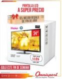 Pantallas HD LED HAIER OMNISPORT ofertas - 21dic-13
