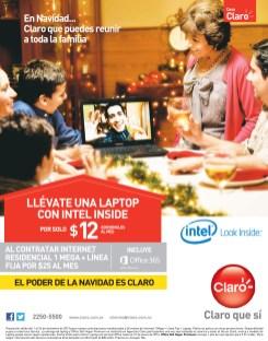 Promcoiones CASA CLARO llevate una laptop - 18dic13