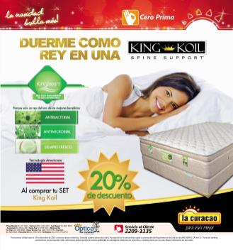Promociones Navideñas 2013 La Curacao el salvador BEDS King KOIL - page 9