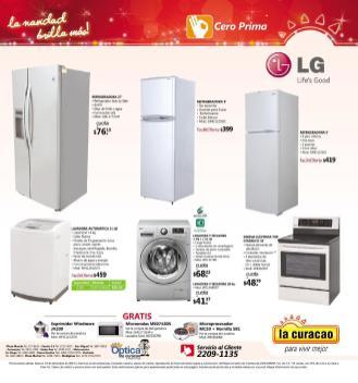 Promociones Navideñas 2013 La Curacao el salvador Electrodomesticos LG - page 11