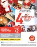 Recargas CLARO hoy cuadruple saldo - 09dic13