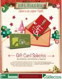 Regalo ideal GIFT CARD super selectos