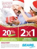 SEARS promociones y descuentos de hoy - 12dic13