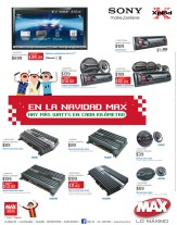 Stereo car solutions promotions MAX ofertas - 09dic13