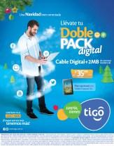 TIGO doble pack promocion incluye TABLET - 09dic13