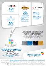 Tardes de compras HOGAR y Tecnologia en GALERIAS - 06dic13