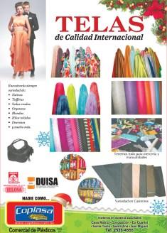Telas de calidad internacional en COPLASA comercial de plasticos - 16dic13
