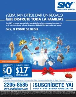 Television Satelital y DIgital SKY el salvador