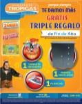 Tropikong tiene regalos Almacenes Tropigas promociones - 30dic13