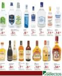 Vodkas Ron Whisky licores SUPER SELECTOS promociones - 30dic13