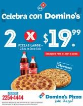 celebra navidad con promociones DOMINOS Pizza - 19dic13