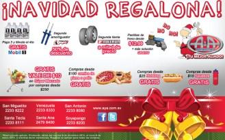 promociones Navidad Regalona A&A Repuestos - 16dic13