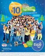 recargas TIGO te regala 10 dolares con TIGO MONEY - 19dic13