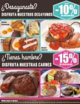 DESCUENTOS Desayunos Pueblo Viejo el salvador - 09ene14