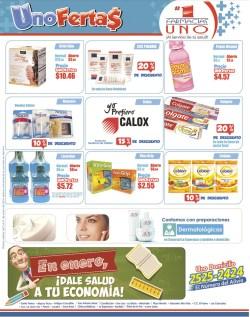 Dale salud a tu economia Ofertas Farmascias UNO - 02ene14
