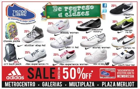 De regreso a clases Mochilas y zapatos deportivos - 04ene14
