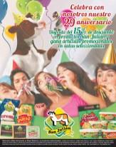 Descuento en LACTEOS san julian el salvador por aniversario - 31ene14