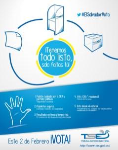 El Salvador VOTA elecciones 2014