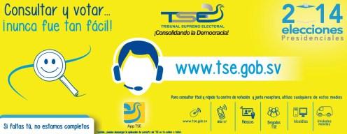 Elecciones presidencial 2014 el salvador TSE app