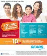 Felicidad inicio de año SEARS promocion de hoy - 04ene14