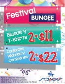 Festival BUNGEE Tiendas St Jacks El Salvador - 31ene14