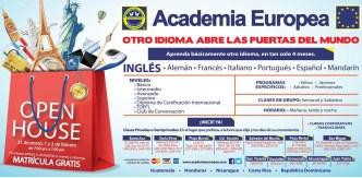 Matricula GRATIS open house ACADEMIA EUROPEA el salvador - 31ene14