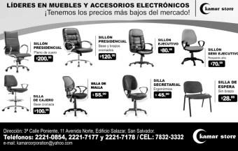 Muebles y Accesorios Electronivos KAMAR STORE el salvador - 16ene14