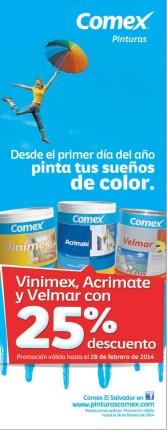 Pinta tu sueños de color COMEX el salvador - 31ene14