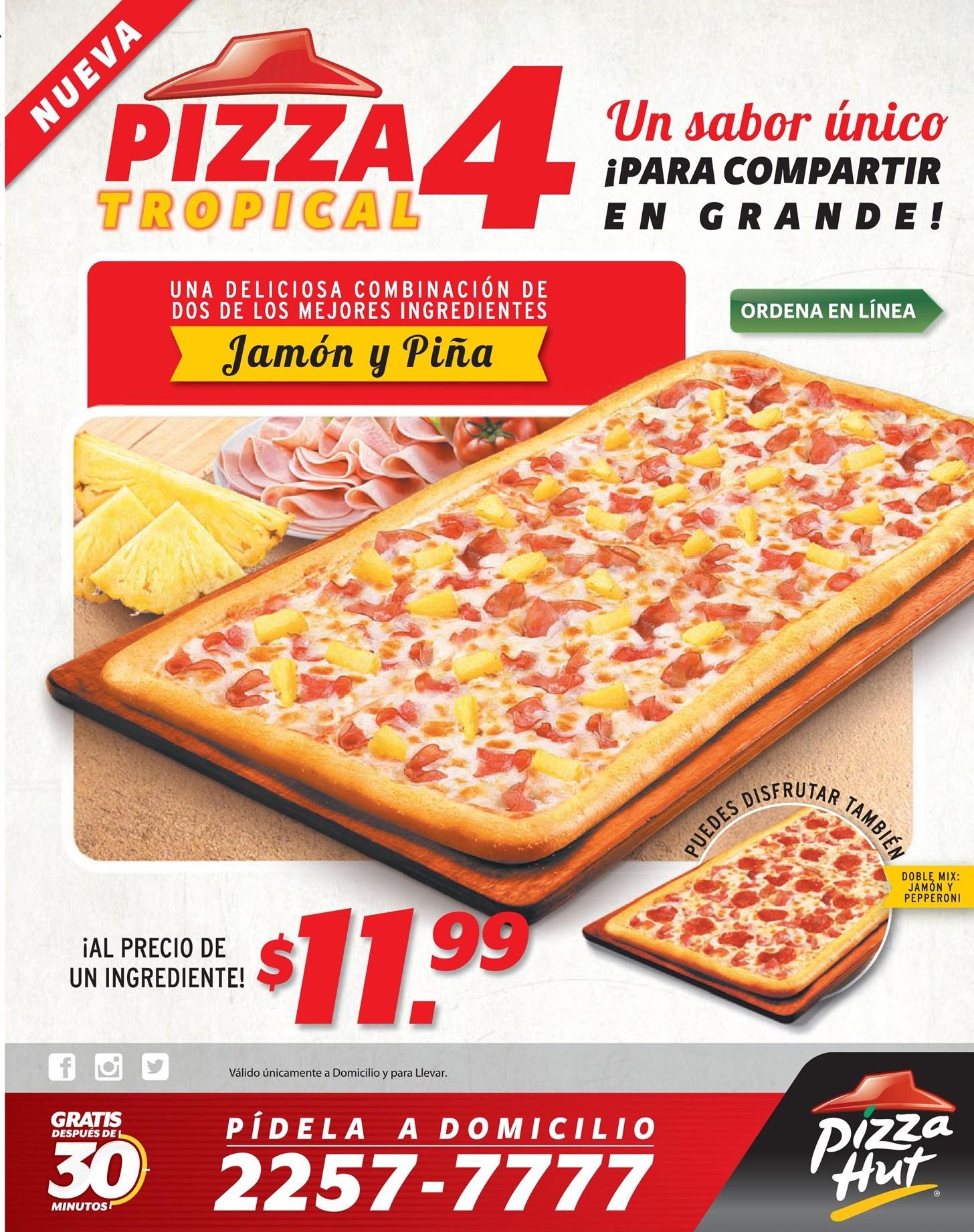 Pizza Hut el salvador