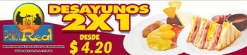 Pollos Real PROMOCION desayunos 2x1