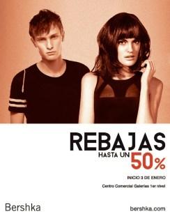 Rebajas centro comercial galerias BERSHKA - 03ene14