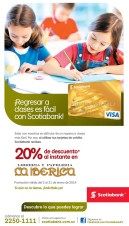 Regresar a clases con descuento LA IBERICA libreria y papeleria - 06ene14