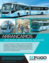 SIPAGO El Salvador modernizando el transporte publico