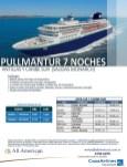 all American Pullmantur antillas y caribe sur promocion