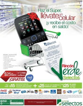 celular TIGO GRATIS Super Selectos promociones - 04ene14