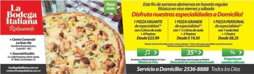 la Bodega Italiana restaurante PIZZA - 31ene14