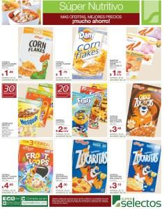 ofertas cereales Kelloggs SUPER SELECTOS mucho ahorro - 04ene14