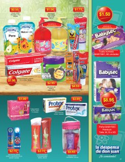 pampers bebes jabones Guia de Compras no1 La Despensa de Don Juan 2014