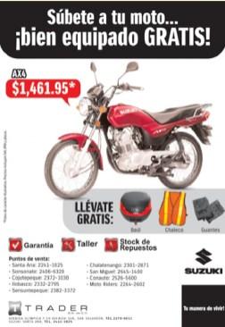 venta de motos el salvador - 31ene14