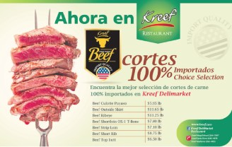 BEEF import quality KREEF restaurante delimarket - 28feb14