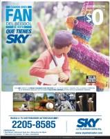 Beisbol grandes ligas SKY television satelital - 24feb14