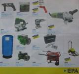 Bomba centrifuga Tanque hidroneumatico Generador electrico EPA